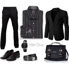 A fashion look from February 2015 featuring English Laundry und black satchel. Browse and shop related looks.