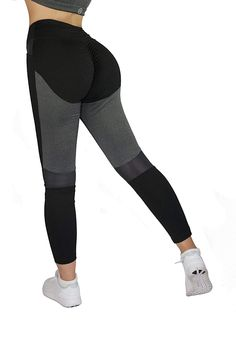 09665ff470ca65 Women Sports Leggings High Waisted Running Fitness Pants