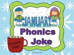 I love Phonics Jokes so much, I want you to try it for FREE!  Follow me for a free phonics joke each month!  Kids LOVE jokes!  Let them work on decoding skills while learning some new ones.  WAY MORE FUN THAN A WORKSHEET!!!  Students can use ANY paper (scrap paper, the back of a worksheet, lined, whatever is on-hand!).