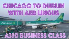 Aer Lingus Chicago to Dublin A330 Business Class | NualaStyle | #AerLingus #BusinessClass #Chicago #Dublin #A330 #review