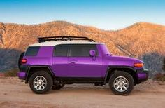 I can only imagine if You could buy this from the dealership! FJ Cruiser Purple