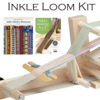 Inkle Weaving Kit with book, DVD, belt shuttle, and inkle loom | InterweaveStore.com