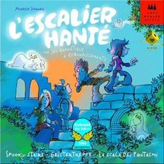 L'Escalier Hanté, dans sa version originale avec les fantomes aimantées, un must du jeu de memoire et original