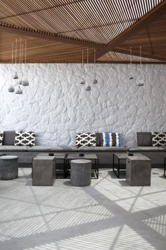 Ode  Restaurant designed by Stone and Wall
