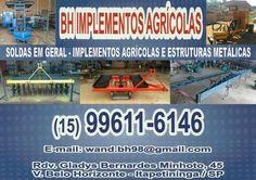 JORNAL AÇÃO POLICIAL ITAPETININGA E REGIÃO ONLINE: BH Implementos Agrícolas Rod. Gladis Bernardes Minhoto, 45 Vila Bele Horizonte - Itapetininga - SP tel: (15) 99611-6146