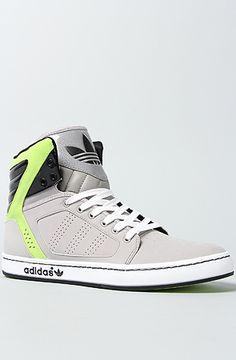 adidas The Adi High EXT Sneaker in Aluminum Lead Black Slime