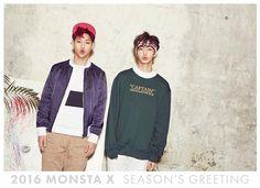 Hyungwon and jooheon