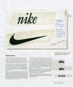 Carolyn Davidson billed for the Nike logo $35.