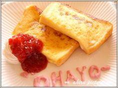 「イチゴjam と フレンチトースト♪」。。。ahiru   お菓子・パンのレシピや作り方【corecle*コレクル】