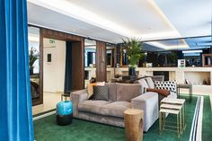 Paris's Hotel Eiffel Blomet honours almost 90 years of distinguished heritage with a fancy retro update...