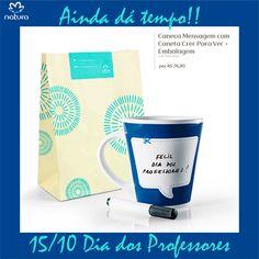 Ainda dá tempo de comprar para presentear... Compre pelo link: http://rede.natura.net/espaco/biabeatrizcardoso/caneca-mensagem-com-caneta-crer-para-ver-embalagem-61525?_requestid=2680188