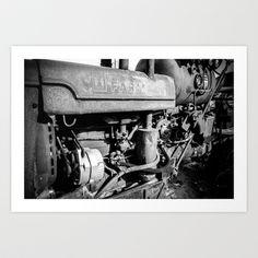 Tractor Art Print by Matt Muñoz - $17.00