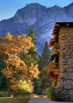 Ahwahnee Hotel in Yosemite National Park. Beautiful!!