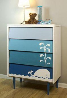 Como pintar un mueble infantil
