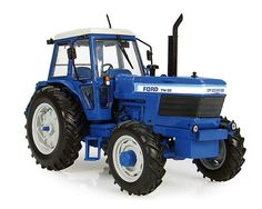 Ford TW30 4x4 (1979) Diecast Model Tractor by Universal Hobbies J4023 This Ford TW30 4x4 (1979) Diecast Model Tractor is Blue and features working linkage, wheels. It is made by Universal Hobbies and is 1:32 scale. #UniversalHobbies #ModelTractor #Ford