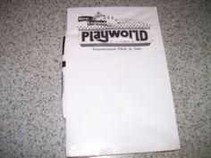 Pad Pen Benson's Wild Animal Farm Known as New England Playworld Last Year | eBay