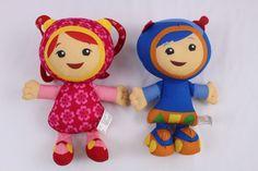 "Team Umizoomi Millie and Geo Plush Doll Stuffed 9"" Fisher Price #FisherPrice"