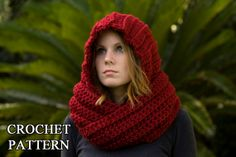 Hooded Scarf - link to pattern - Very nice!!!
