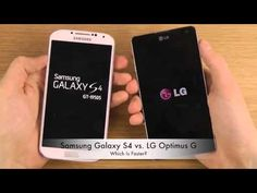 Samsung Galaxy S4 vs LG Optimus G Pro Which Is Faster Better Benchmark