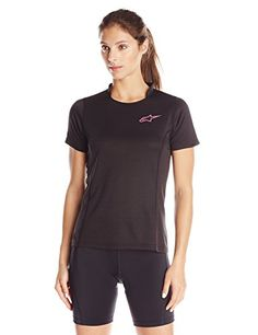 Alpinestars Womens Stella Krypton Short Sleeve Jersey Large BlackOrchid --  Read more at the image link.Note It is affiliate link to Amazon. b44ce4a1d