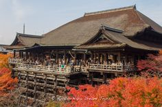 https://flic.kr/p/yBvWZU | Kiyomizu dera During the Autumn Season of 2012 in Kyoto! | The main hall or Hon-dō (本堂) of Kiyomizu dera During the Autumn Season of 2012 in Kyoto!