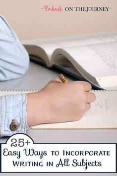Don't restrict writing to your writing block. Come discover 25 ways you can…