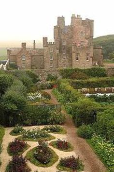 Castle of Mey ~ The Queen Mother's favorite place in Scotland.