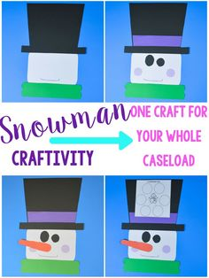 snowman craft for sp