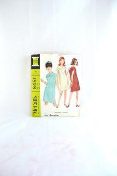 1960s Vintage McCall's Pattern 8451 Misses by TabbysVintageShop