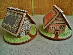 GINGERBREAD HOUSES~Little houses | Cookie Connection