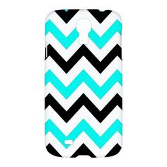 Cool Chevron Pattern Samsung Galaxy S4 S 4 S IV Hardshell Case Cover - PDA Accessories
