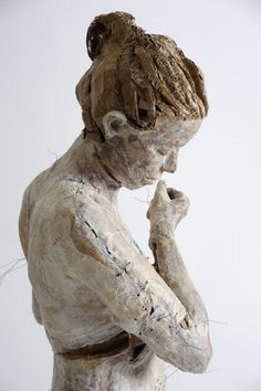 Greek artist Vally Nomidou creates these delicate life-size sculptures of women and girls using paper and cardboard.#CalypsoHoliday