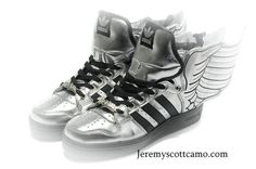 497088a47b3a Buy Adidas Originals Jeremy Scott X JS Wings Sliver Black Authentic from  Reliable Adidas Originals Jeremy Scott X JS Wings Sliver Black Authentic  suppliers.
