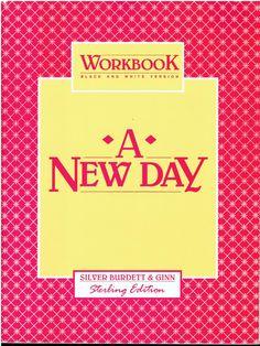 Silver Burdett & Ginn A New Day Workbook Level 5 Reader isbn 0663520746 LA2