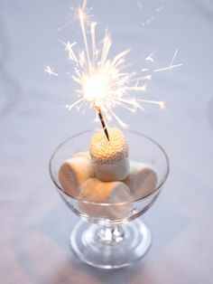 Sparkler topping | Marietta Leung Photography | see more on: http://burnettsboards.com/2014/03/tabletop-color-stories/