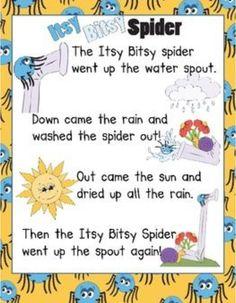 Intsy bitsy spider