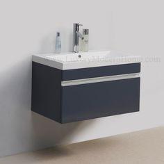 """ALEXIUS - 30"""" Gray Vanity Sink"""