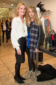 Lady Mary Gaye Curzon and Cressida Bonas Matthew Williamson resort collection party
