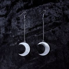 Luna Earrings - Witch - Goth - Nu Goth - Witch Worldwide