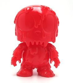 "Mini Qee 5"" Melting Toyer Red"