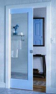Cavity Sliding Bathroom Door
