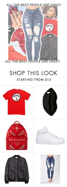 """"""""""" by geazybxtch24 ❤ liked on Polyvore featuring STELLA McCARTNEY, MCM and NIKE"""