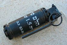 Stun grenade - Wikipedia, the free encyclopedia