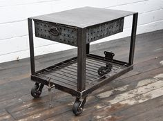 letterpress table/cart