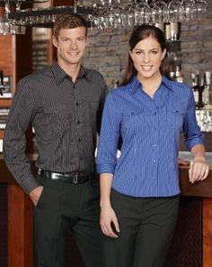 Mens Cuban Shirt - Long Sleeve - S10410