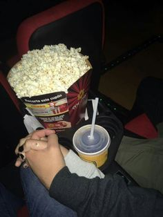 I would love this. Look at all that popcorn!! Hold my hand. I'm here for you.