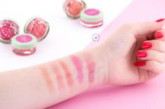 Blush Garden Neve Cosmetics - Review & Swatches