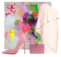 """Pretty Girl. In Plush Pink"" by pensacolaparisian on Polyvore"