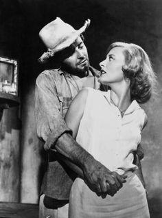 """Gérard Philipe & Michèle Morgan - """"Les Orgueilleux"""" - Yves Allégret (1953)"""
