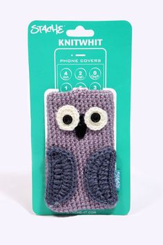 Crocheted Owl Phone Case from Urban Outfitters http://give.as/zWETJy Raises £0.35 for your charity through www.giveasyoulive.com